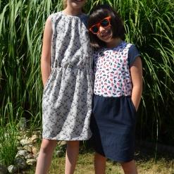 Kleya Kleid Kinder Anja Brüßler 02 - Antonia Montano - Schnittmuster