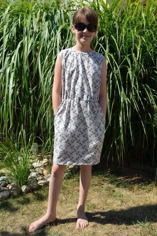 Kleya Kleid Kinder Anja Brüßler 04 - Antonia Montano - Schnittmuster