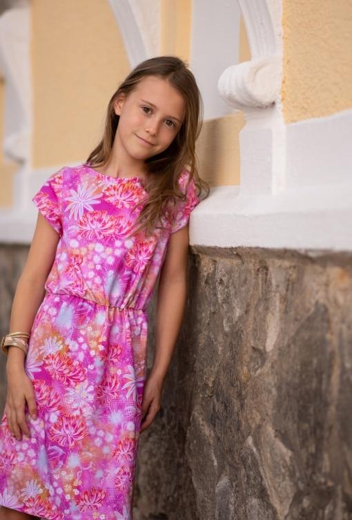 Kleya Kleid Kinder Christin Thumann Knopfkönigin 06 - Antonia Montano - Schnittmuster