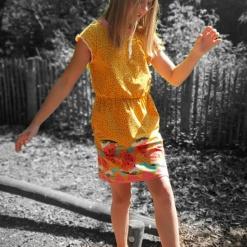 Kleya Kleid Kinder Nicole Kaiser nähpferdchen 03 - Antonia Montano - Schnittmuster