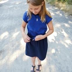 Kleya Kleid Kinder Nicole Kaiser nähpferdchen 04 - Antonia Montano - Schnittmuster