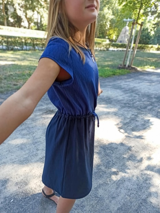 Kleya Kleid Kinder Nicole Kaiser nähpferdchen 05 - Antonia Montano - Schnittmuster
