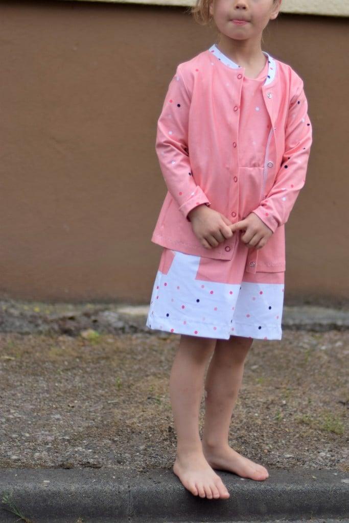 KinderJacke mit Kleya Daniela Schenk 01 - Antonia Montano - Schnittmuster